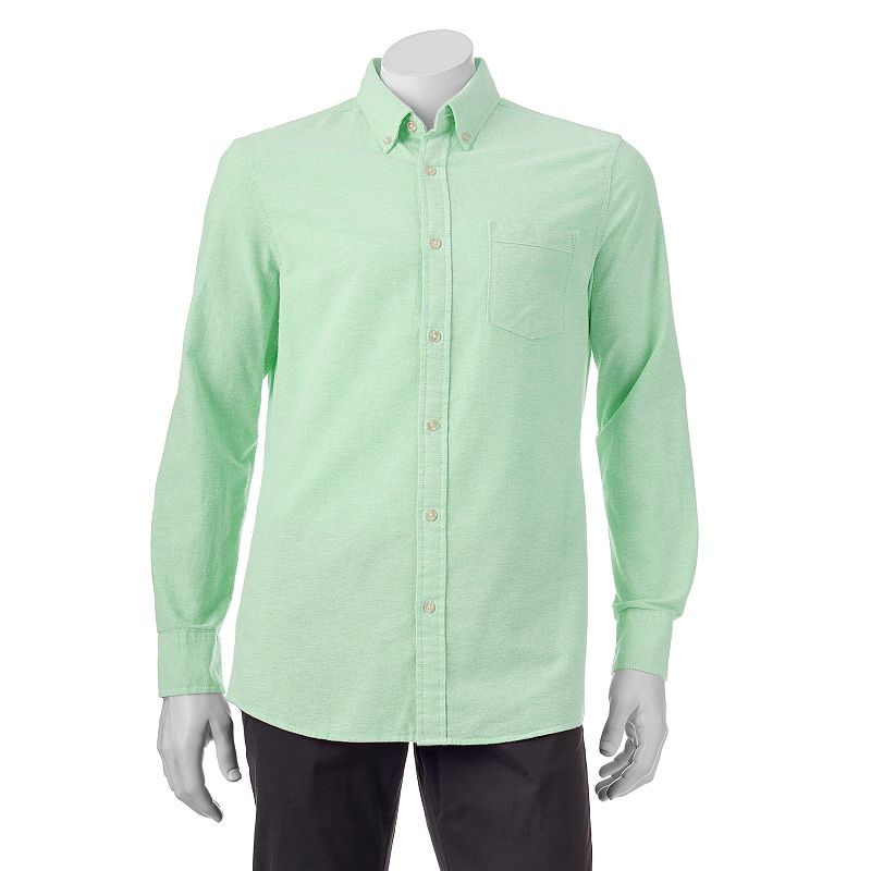 Men's SONOMA Goods for Life™ Classic-Fit Solid Oxford Button-Down Shirt - Men