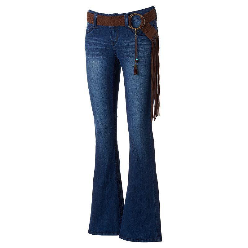 Juniors' Wallflower Starlette Fit & Flare Jeans
