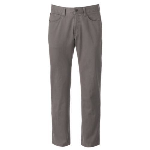 Men's SONOMA Goods for Life™ Straight-Fit 5-Pocket Flat-Front Denim Pants