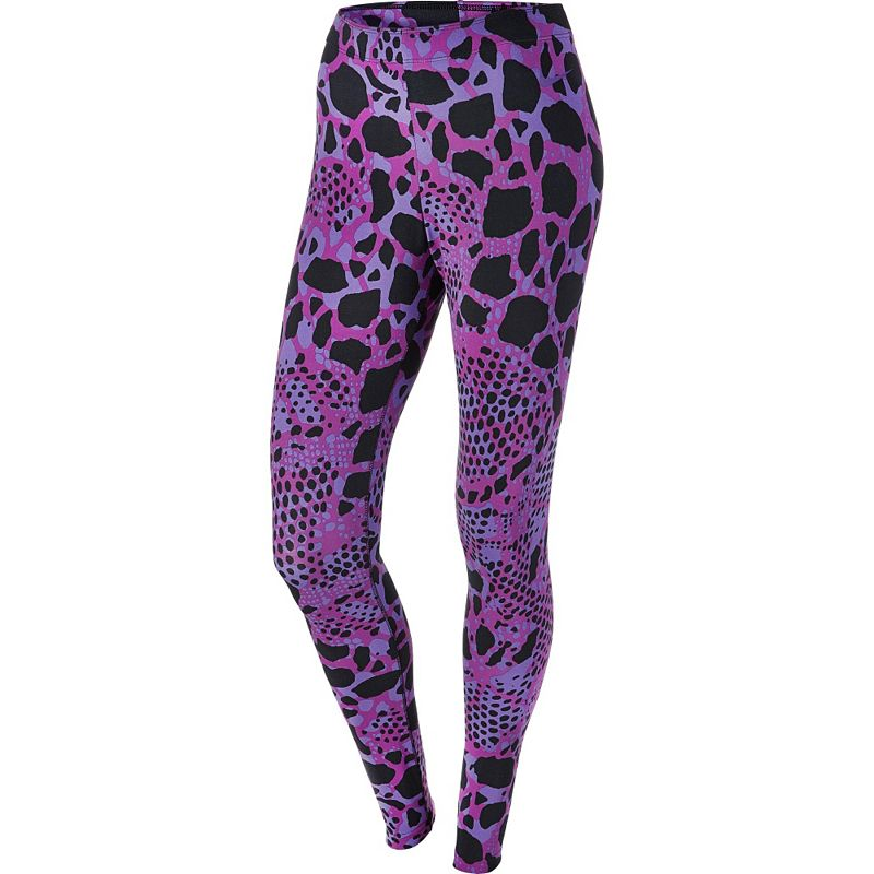 Women's Nike Nike Club Printed Workout Leggings