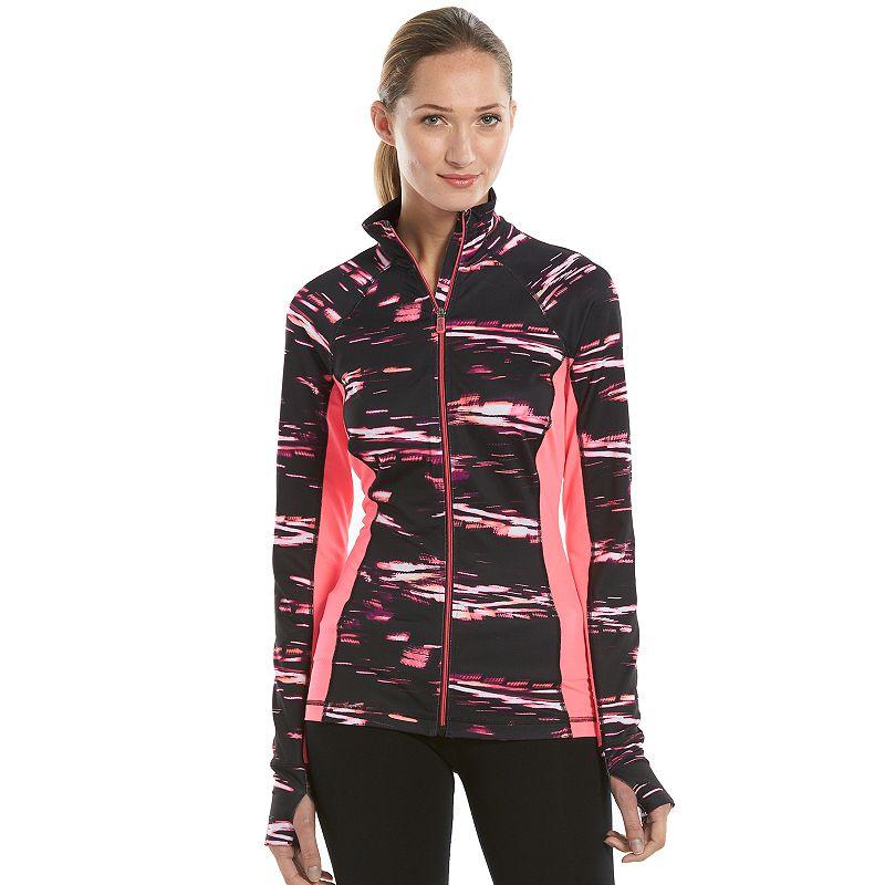 Women's Tek Gear® Mockneck Workout Jacket