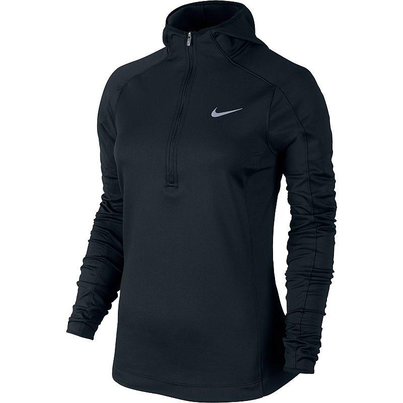 Women's Nike Thermal Dri-FIT Quarter-Zip Running Hoodie