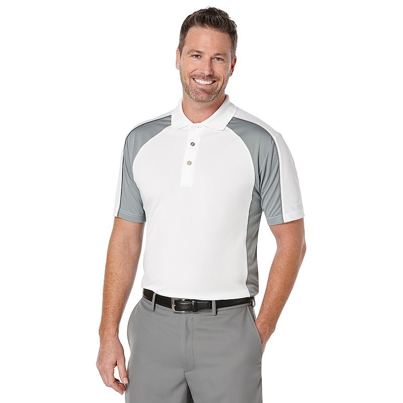 Big & Tall Grand Slam Airflow Colorblock Performance Golf Polo