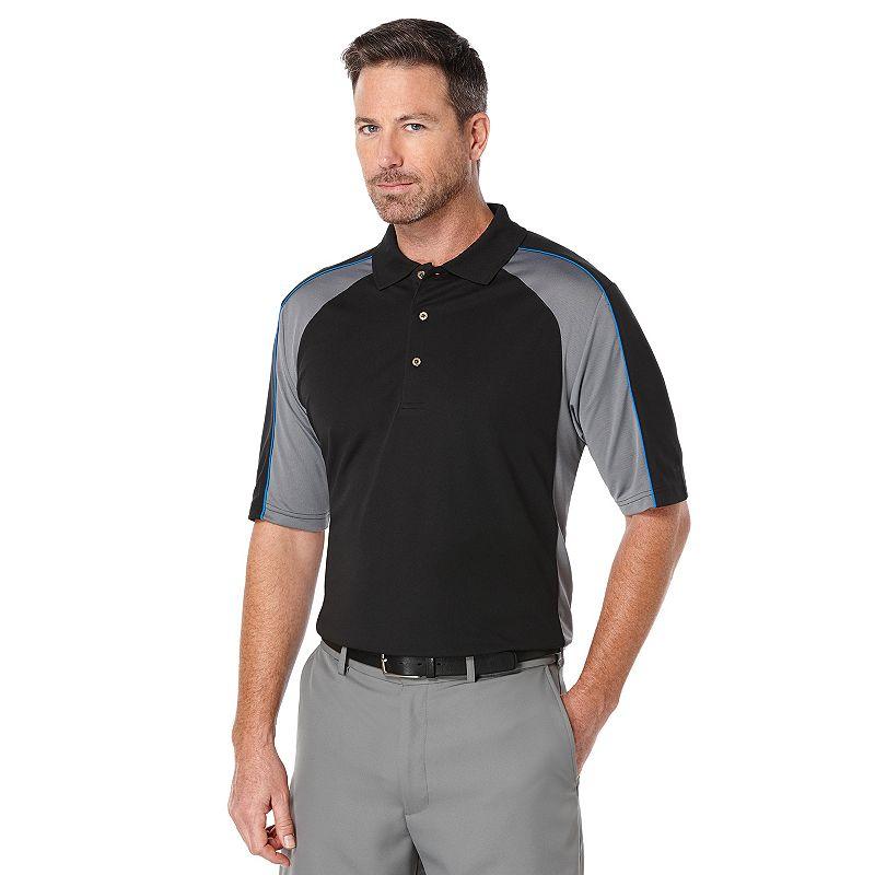 Big & Tall Grand Slam Airflow Colorblock Performance Golf Polo