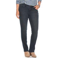 Plus Size Chaps Classic Fit Straight-Leg Jeans