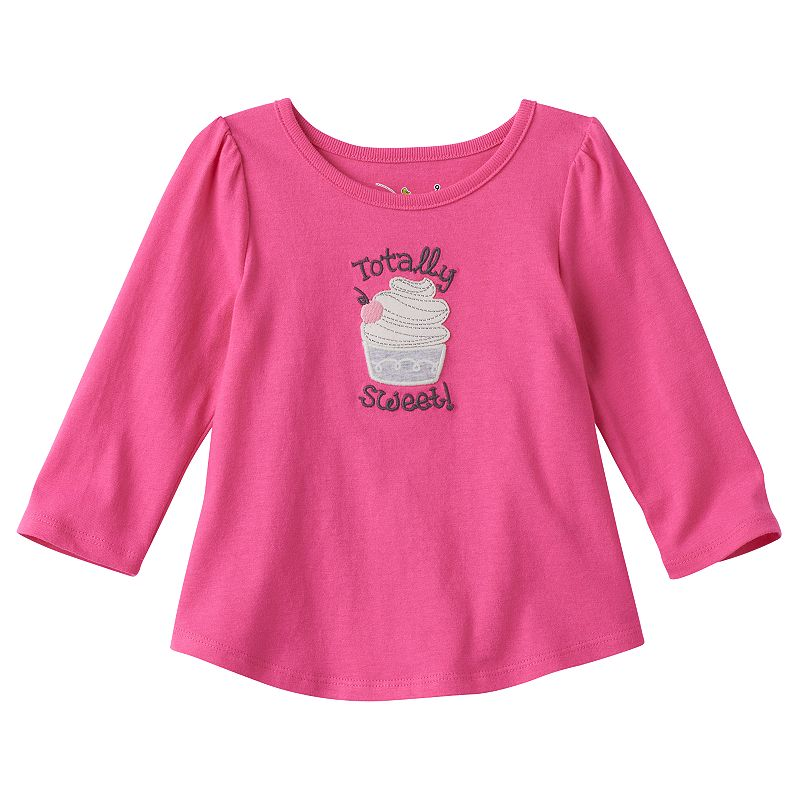 Baby Girl Jumping Beans® Embroidered Tunic