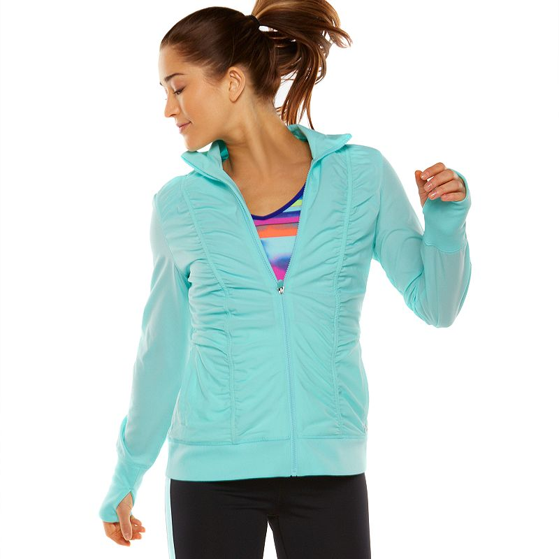 Women's FILA SPORT® Shirred Performance Jacket