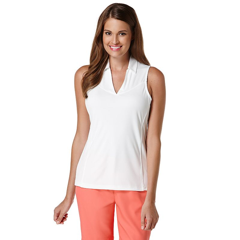 Women's Grand Slam Sleeveless Golf Polo