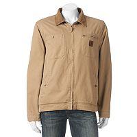 Men's Field & Stream Sherpa-Lined Twill Field Jacket