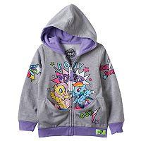 Toddler Girl My Little Pony Twilight Sparkle & Pinkie Pie Reversible Pocket Frenz Hoodie