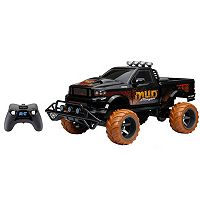 New Bright 1:6 R/C FF 9.6V Off-Road Mud Slinger Truck