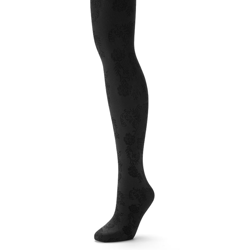 Apt. 9® Colorwise Floral Tights