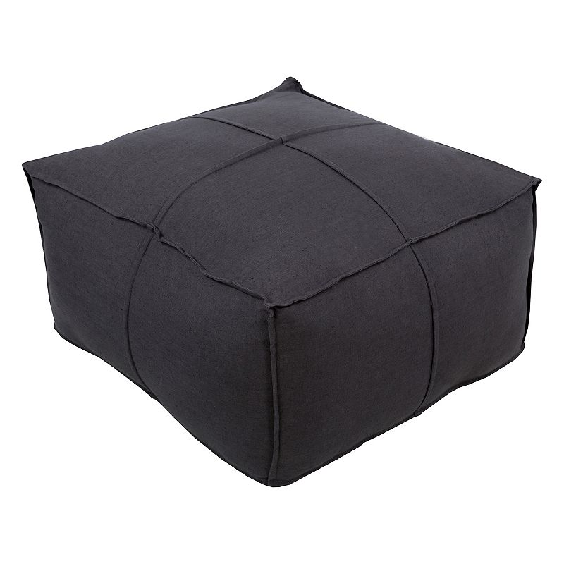 Decor 140 Ixion Dark Linen Pouf