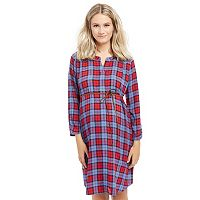 Maternity Oh Baby by Motherhood™ Print Shirtdress