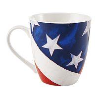 Pfaltzgraff Vintage Flag Mug