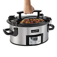Crock-Pot 6-qt. Digital Locking Lid Slow Cooker