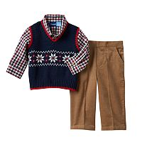 Baby Boy Great Guy Sweater Vest & Pants Set