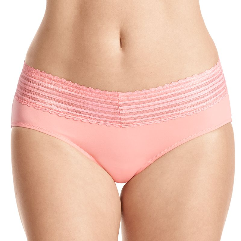 Warner's No Pinching. No Problem. Lace-Trim Hipster 5609 - Women's