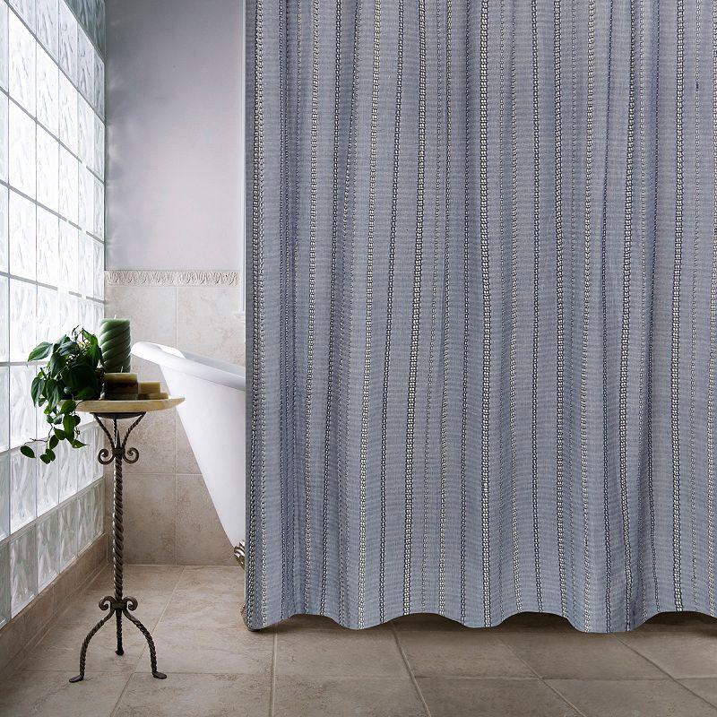 Eyelet Chain Shower Curtain