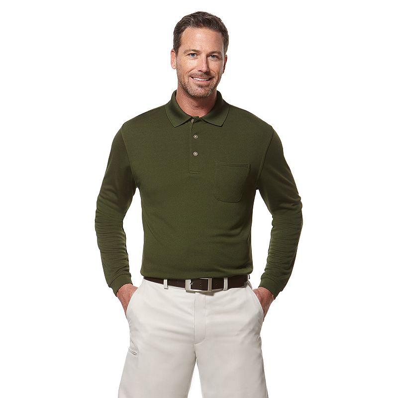 Men's Grand Slam Classic-Fit Pocket Airflow Performance Golf Polo