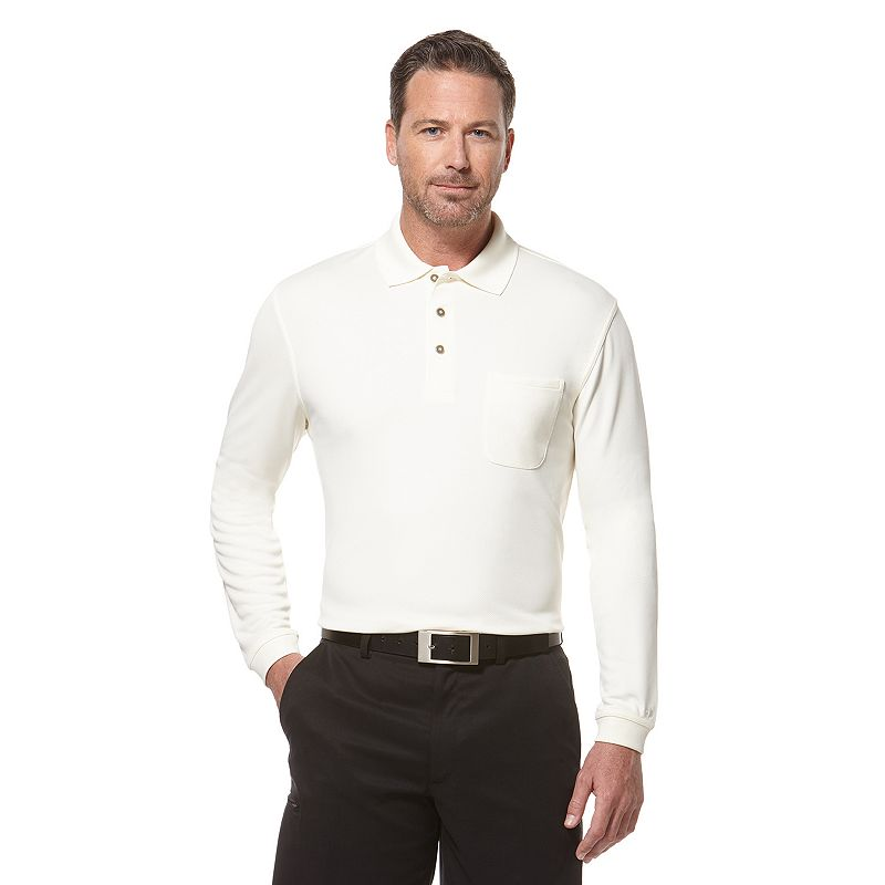 Men's Grand Slam Classic-Fit Pocket Airflow Performance Golf Polo