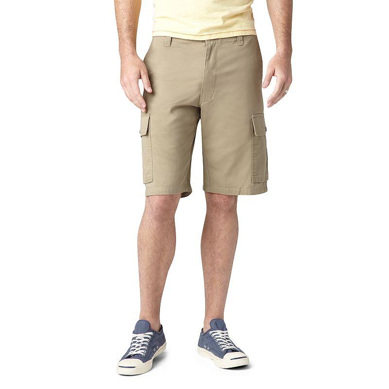 Men's Dockers Washed Twill Cargo Shorts