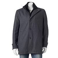 Men's Andrew Marc Classic-Fit Wool-Blend Car Coat