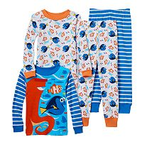 Disney / Pixar Finding Dory Nemo, Dory & Hank Toddler Boy 4-pc. Pajama Set