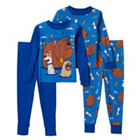 Toddler Boy The Secret Life of Pets Max, Duke & Mel 4-pc. Pajama Set