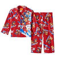 Toddler Boy Paw Patrol Marshall, Chase & Rubble Shirt & Pants Pajama Set