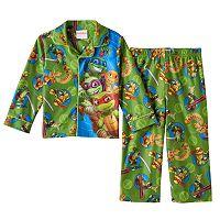 Toddler Boy Teenage Mutant Ninja Turtles Shirt & Pants Pajama Set