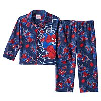 Toddler Boy Spider-Man Shirt & Pants Pajama Set