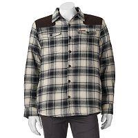 Big & Tall Field & Stream Classic Fit Sherpa-Lined Button-Down Shirt