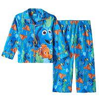 Disney / Pixar Finding Dory Nemo Toddler Boy Shirt & Pants Pajama Set