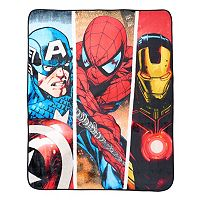 Avengers Silk Touch Throw