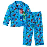 Toddler Boy PJ Masks Catboy, Gekko & Owlette Pajama Set