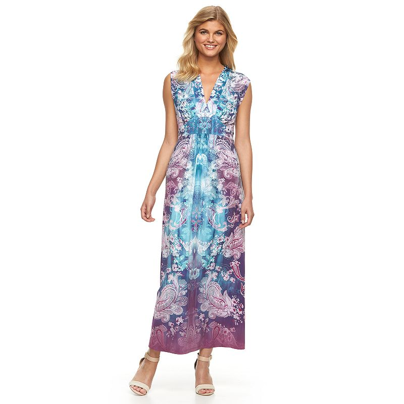 Women's World Unity Embellished Maxi Dress