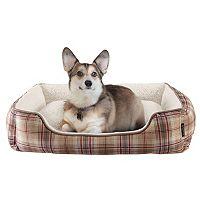 Cuddl Duds Rectangular Cuddler Pet Bed