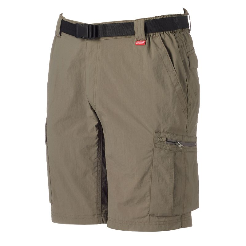 Men's Coleman Classic-Fit Belted Performance Hiking Shorts