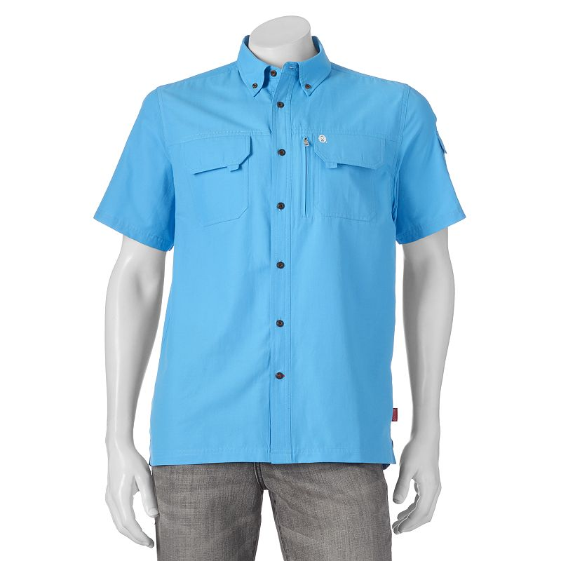 moisture wicking button down shirt kohl 39 s