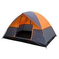 Stansport Teton 4-Person Dome Tent (Gray Orange)