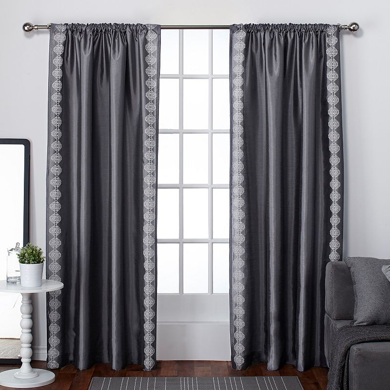 Exclusive Home 2-pack Tiffany Striped Curtains