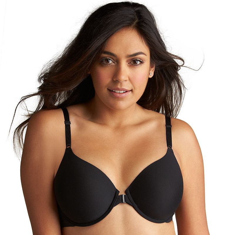 Olga Bra: To A Tee Front-Close Full-Figure Contour T-Shirt Bra GB2451A - Women's