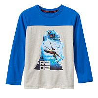 Boys 4-7x Star Wars a Collection for Kohl's R2-D2, X-Wing & TIE Fighters Galaxy Tee