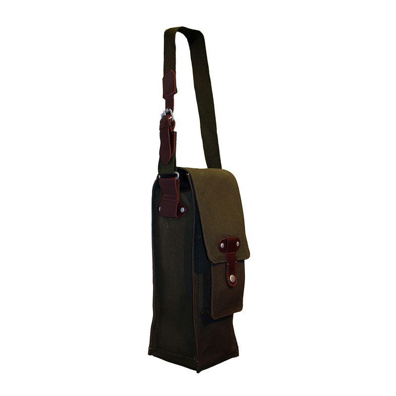 Park B. Smith Cargo Single Bottle Wine Bag