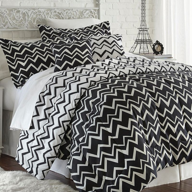 Printed Reversible Bed Set