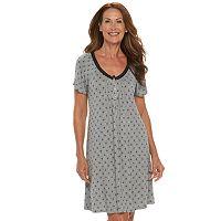 Women's Croft & Barrow® Pajamas: Enchanted Nightgown