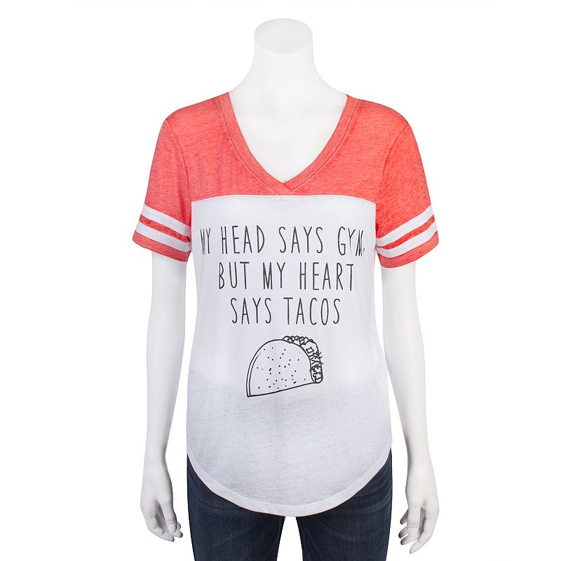 Juniors' Grayson Threads Burnout Football Graphic Tee