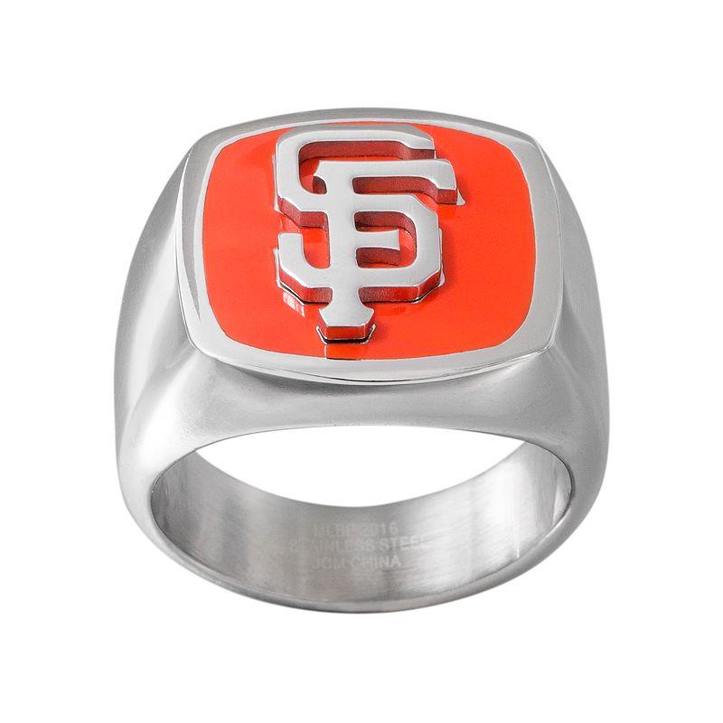 Men's Stainless Steel San Francisco Giants Ring