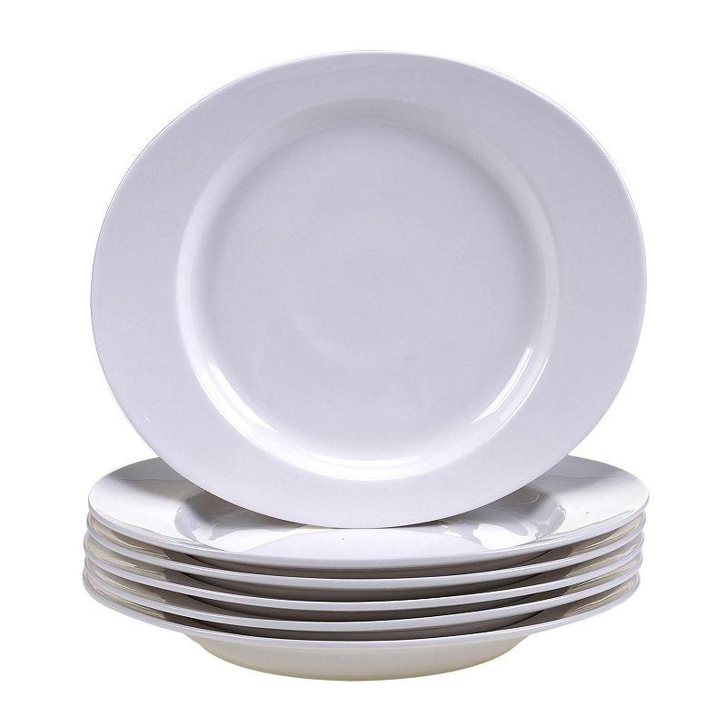 Certified International Ellipse 6-pc. Porcelain Salad Plate Set